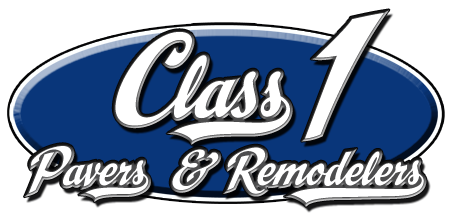 Class 1 Pavers & Remodelers, Logo